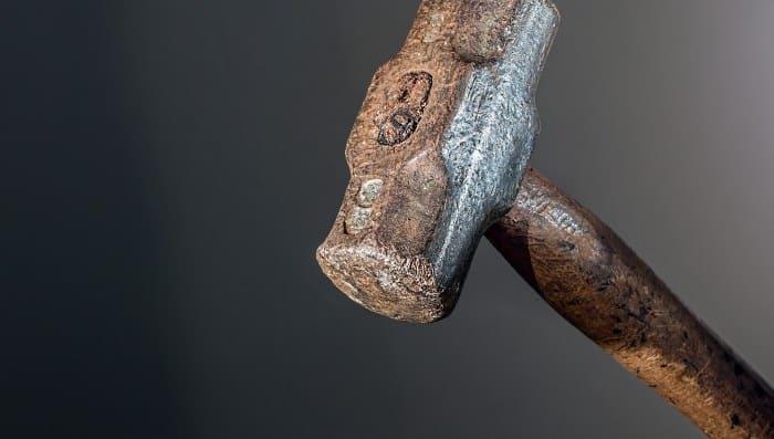 Hammerkopf eines Schlaghammers