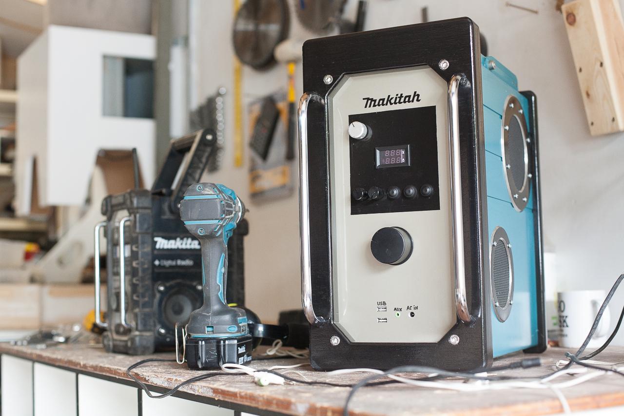 Makita Baustellenradio: Test & Empfehlungen (01/20)