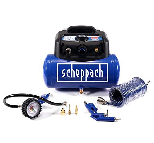 Scheppach 1890437 5906132901 Druckluft-Kompressor HC06 6l 8 bar