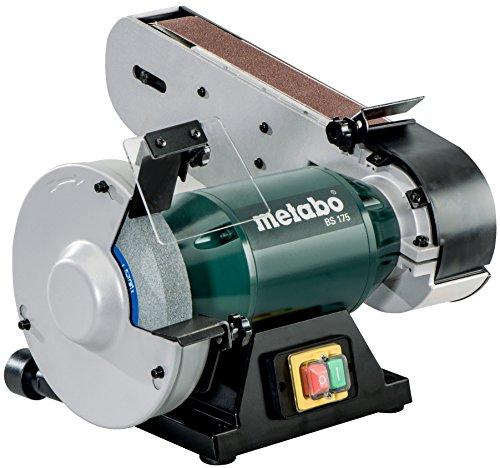 Metabo Kombi-Bandschleifmaschine BS 175 (601750000) Karton, Schleifscheiben (Ø x Dicke x Bohrung): 175 x 25 x 32 mm, Leerlaufdrehzahl: 2980 /min, Netzspannung: 220 - 240 V
